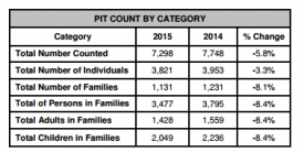 Pit Count by Category